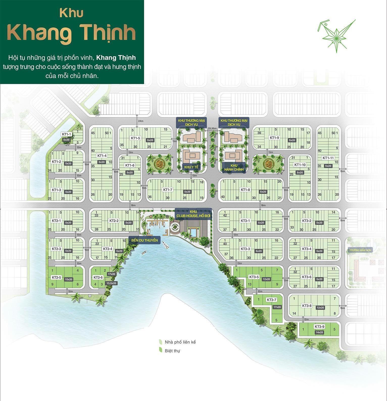 Mat bang bien hoa new city khu khang thinh