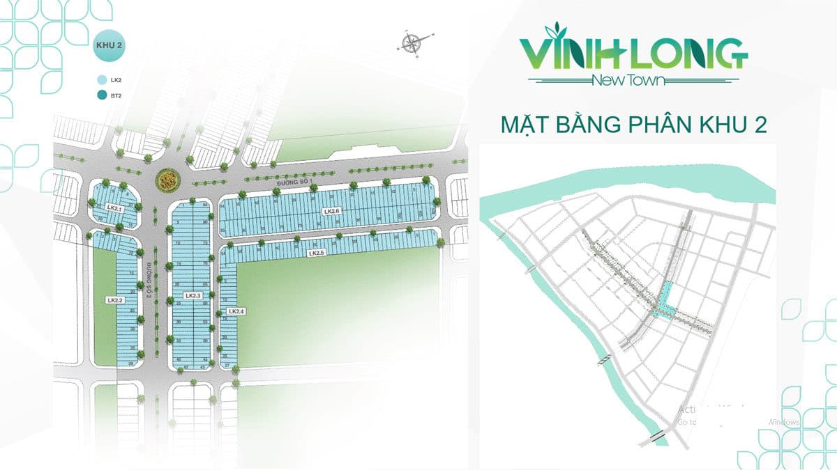 Mat bang phan khu 2 du an vinh long new town bdsreal. Com 4