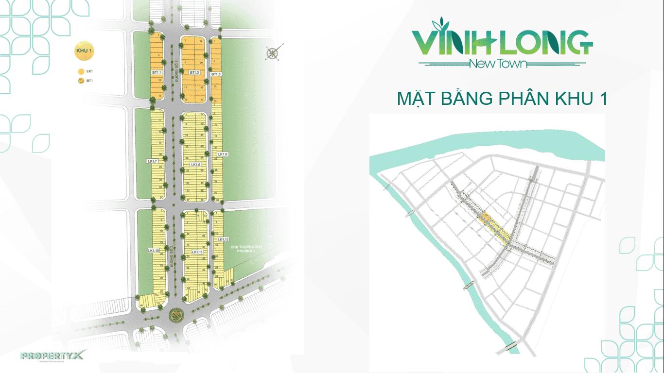 Phan khu 1 du an vinh long new town bdsreal. Com 2