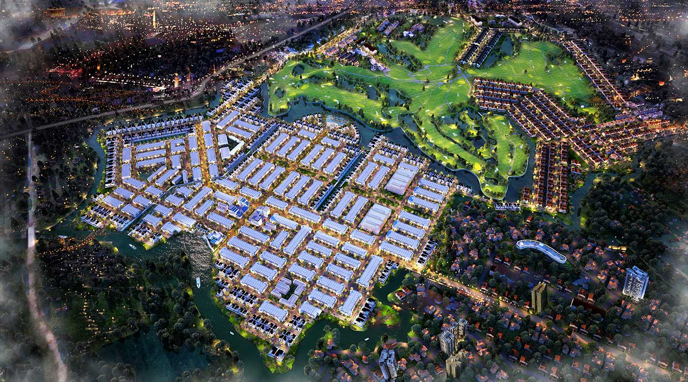 Phoi canh bien hoa new city bdsreal. Com