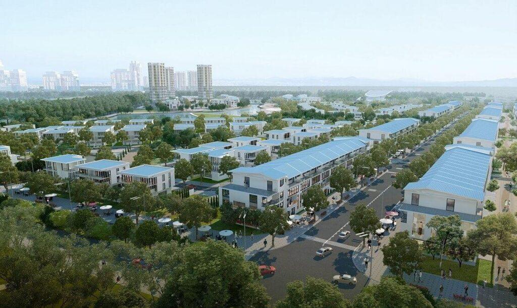 Mô hình nhà phố dự án hồ gươm xanh