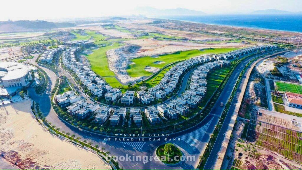 Hình ảnh thực tế khu biệt thự para draco cam ranh- kn paradise