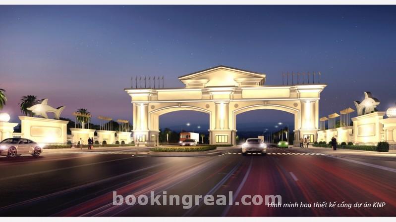 Cổng chính dự án kn- paradise- thiên đường nghỉ dưỡng bậc nhất