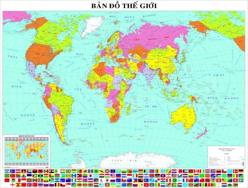 Bản đồ thế giới có thể bạn chưa biết