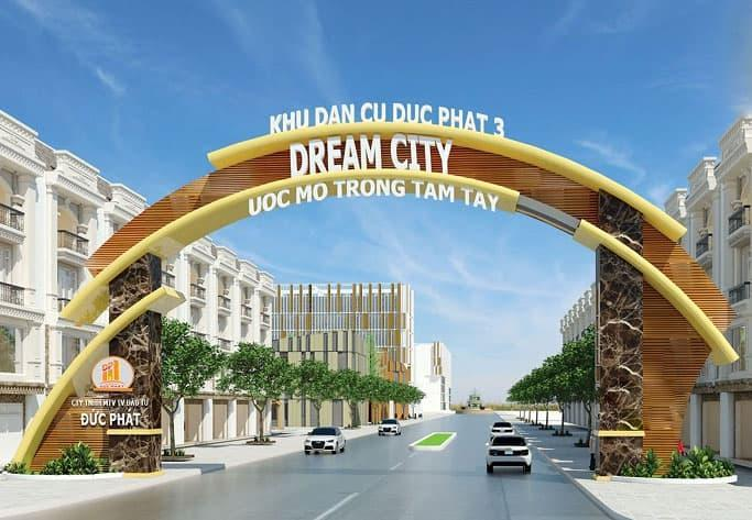 cổng chào dự án đức phát 3