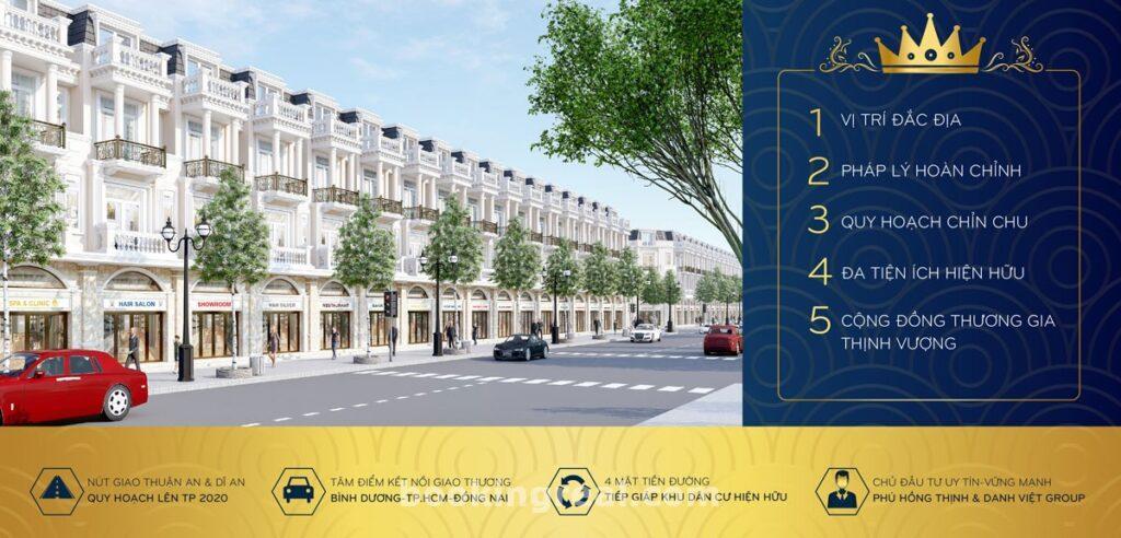 Townhouse icon central dự kiến một phương thức thanh toán chuẩn