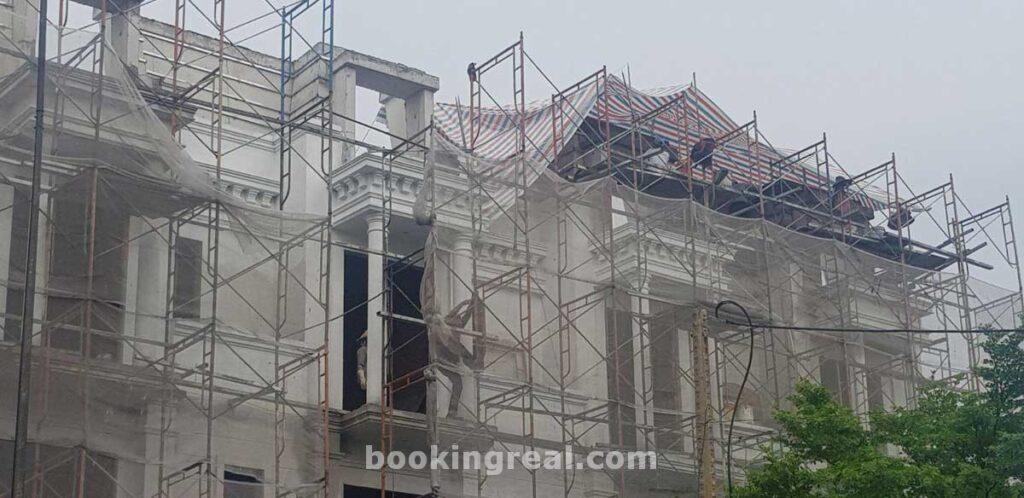 Cập nhật tiến độ thi công nhà phố dự án icon central dĩ an tháng 06 năm 2020