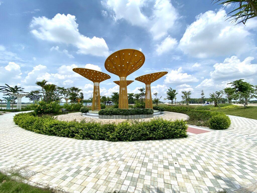 Công viên nội khu dự án icon central bình dương